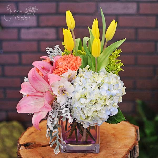 Greenhillsflorist spring blossom by green hills flower shop in greenhillsflorist spring blossom by green hills flower shop in rancho palos verdes ca all occasions holiday flower gifts mightylinksfo