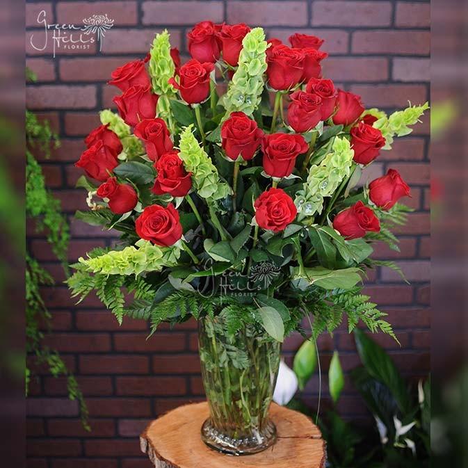 3 Dozen Premium Roses by Green Hills Florist Rancho Palos Verdes Flowers San Pedro Florist