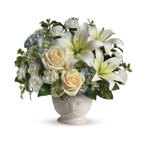 Beautiful Dreams funeral sympathy tribute service flower Green Hills Mortuary Memorial Chapel Rancho Palos Verdes