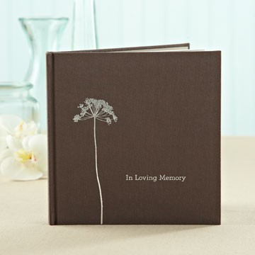 In Loving Memory, a gift book of sympathy available at Green Hills Florist