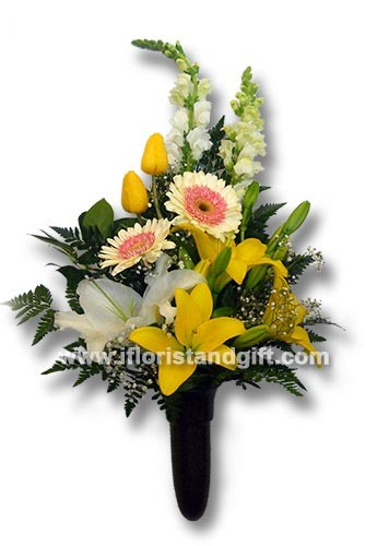 Mausoleum Flower Bouquet