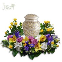 Hope & Harmony Urn Wreath by Green Hills Florist Rancho Palos Verdes