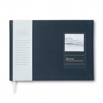 Forever Remembered Memorial Funeral Guest Book