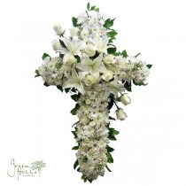 Serenity Cross by San Pedro florist