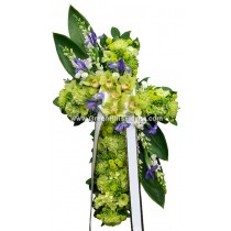 Heaven's Comfort Cross by Green Hills Florist