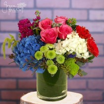 Emotions flower vase by Green hills florist, local San Pedro florist