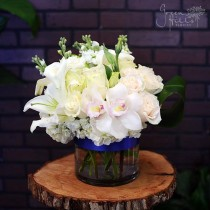 White Illuminations by Green Hills Florist, Rancho Palos Verdes