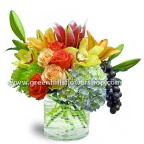Sumptuous Gathering by Green Hills Florist