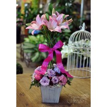 Lily Topiary by Green Hills Florist