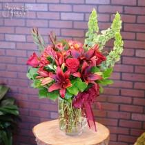 Red Sunset Green Hills Florist Rancho Palos Verdes South Bay flower shop