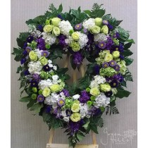 Cherished Memories Heart by Green Hills Flower Shop