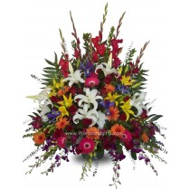 Grandiose Funeral Flower Arrangement