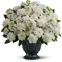 Pure Serenity Sympathy Flower
