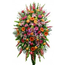 Most Memorable Tribute Spray by Green Hills Florist