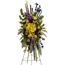 In Loving Memory Spray by Green Hills Florist
