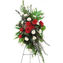 Remembering Forever Spray by Green Hills Florist