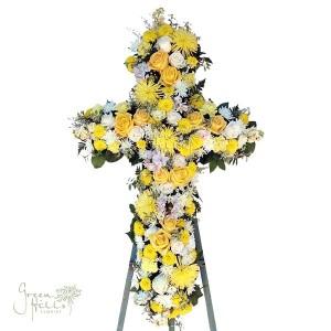 Bereavement Cross by Green Hills Florist Mortuary