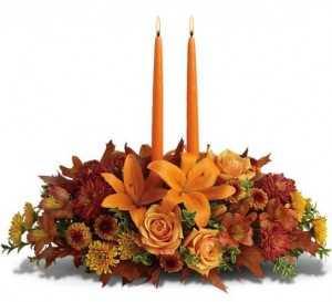 Family Gathering Centerpiece by Green Hills Florist