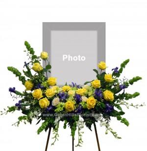 Fond Memories Yellow & Blue by Green Hills Florist