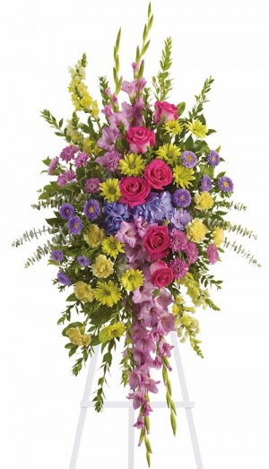 Bright and Beautiful Spray by Green Hills Florist