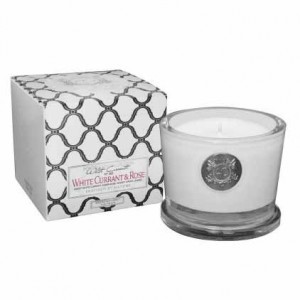Aquiesse White Currant & Rose Candle Small