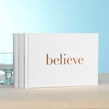 Believe gift book