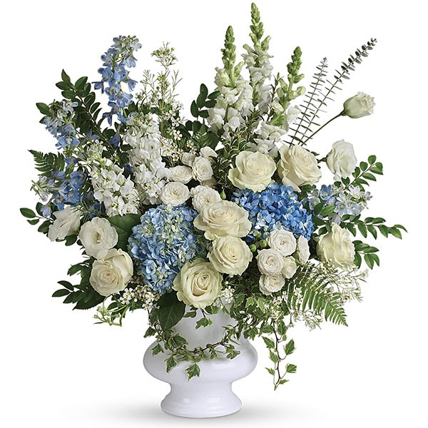 Funeral sympathy tribute service flower green hills mortuary memorial chapel florist