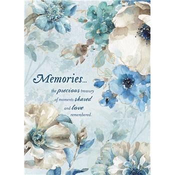 Memories sympathy card