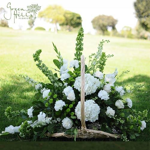 Fireside Sympathy Funeral Basket Rancho Palos Verdes