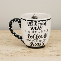 Little Coffee Lot of Jesus Mug