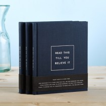 Read This Till You Believe It gift book