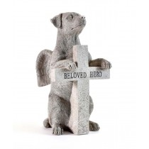 "Dog Figurine ""Beloved Hero"""