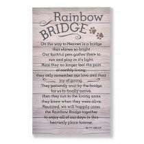 Rainbow Bridge Wall Plaque