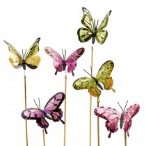 Butterfly on a stick by Green Hills Florist in Rancho Palos Verdes