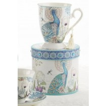 Peacock Mug in Gift Box