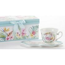 Flamingo Tea & Toast Set