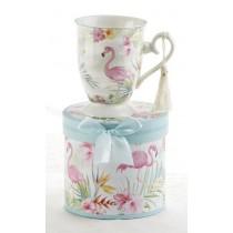 Flamingo Mug in Gift Box