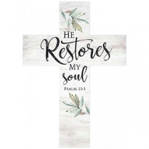 Cross: He restores my soul
