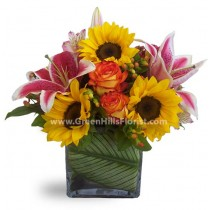 Golden Trend by Green Hills Florist