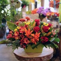 Autumn Morning Fall flower by Green Hills Flower Shop, Rancho Palos Verdes