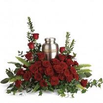 Beloved Urn Memorial cremation by Green Hills Florist