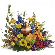 Life Remembered Urn Cremation Memorial by Green Hills Florist