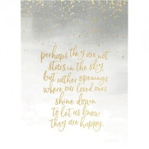 Stars in the Sky sympathy card