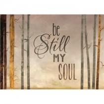 Be still my soul sympathy card
