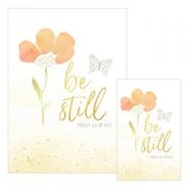 Be Still Psalm 46 card