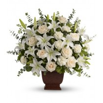 Loving Lilies & Roses by San Pedro flowers