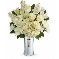 Shining Spririt funeral sympathy flower Green Hills mortuary chapel