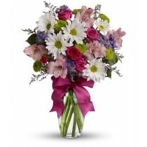 Sympathy flower vase to Green Hills Mortuary Memorial Chapel