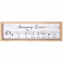 Amazing Grace Music Frame Art
