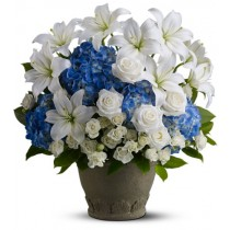 Tranquil Seas funeral sympathy tribute flower